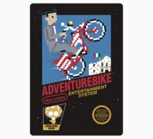 Adventurebike (STICKER) by mikehandyart