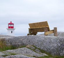 Peggy's Cove by Max Miller