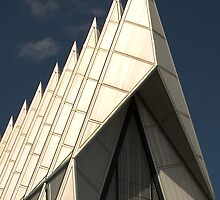 Air Force Academy Cadet Chapel (Exterior 4) by WestbrookArts