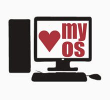 i love my os by beggr