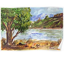 Tarlton landscape in Acrylic Poster