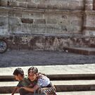Guatemalan Kids by Murray Newham