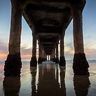 Manhattan Beach Sunset #2 by Firesuite