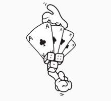 mickey mouse hands gambling T-Shirt