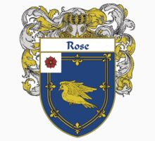 Rose Coat of Arms / Rose Family Crest by William Martin
