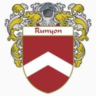 Runyon Coat of Arms / Runyon Family Crest by William Martin