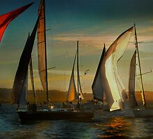 Where Spinnakers Come To Life by linaji