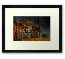 End Times Framed Print