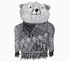 Bear Illustration  by goatlegg