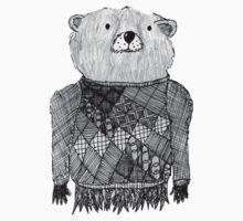 Bear Illustration  Kids Clothes