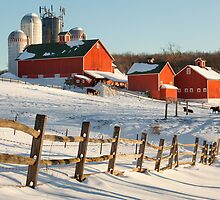 Happy Acres Farm  by Bill Wakeley