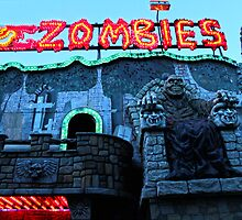 Praterstern Park, Zombies by GregorDyer