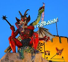 Praterstern Park, Geisterschloss, Demon by GregorDyer