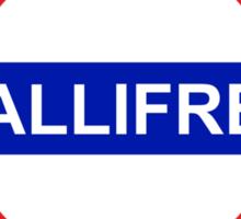 Underground: Gallifrey Sticker