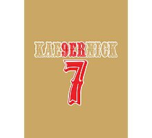 [CLASSIC] KAE9ERNICK 7 - QB #7 Colin Kaepernick of the San Francisco 49ers Photographic Print