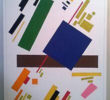 Suprematist Composition by Kereselidze