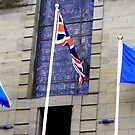 Flags flying on Armed Forces day  by Forfarlass