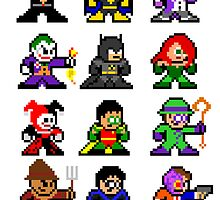 8-bit Gotham by groundhog7s