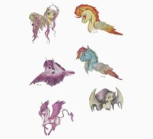 Pegasi Sticker Sheet by pinkiepony