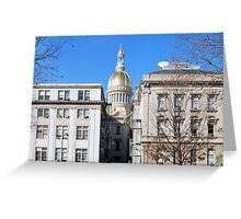 New Jersey Capitol Greeting Card
