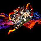 Flaming Fairytail by coffeewatson