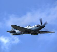 PM 631 Photographic Reconnaissance Spitfire by Nigel Bangert