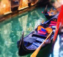 Gondola in Venice by Dobromir Dobrinov