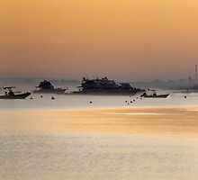 Quindalup beach at sunrise by BeninFreo
