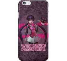 Outrageously scary beautiful iPhone Case/Skin