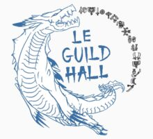 Monster Hunter Le Guild Hall-Lagiacrus Version 1 Uncolored by S4LeagueProps