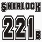 Sherlock 221b - Sports Jersey - SHERLOCK by poorlydesigns