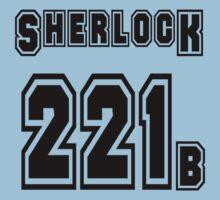 Sherlock 221b - Sports Jersey - SHERLOCK Kids Clothes