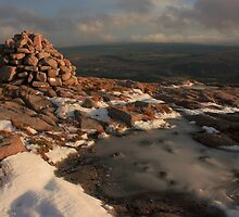 Frozen Summit Of Croaghnageer by Adrian McGlynn