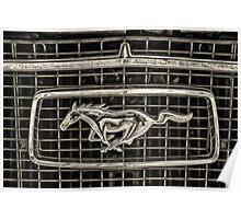 Mustang car Poster