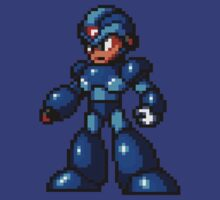 Pixel Megaman by MGraphics