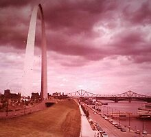 St. Louis Arch - (1980) by Dwaynep2010