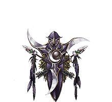 World of Warcraft - Night Elf Crest by NellyMushBean