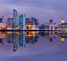 Liverpool Skyline by Michael Walsh