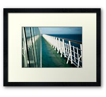 The Sun Deck Framed Print