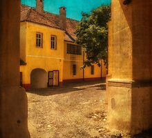Yellow house by Dobromir Dobrinov