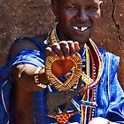 Gap Toothed Masai by phil decocco
