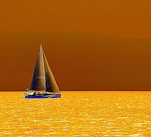 Sailing On The Yellow Sea by Fara