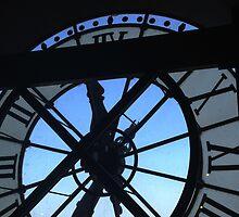 Musée d'Orsay clock by GreenAvenue