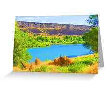 """""""Snake River"""" by Carter L. Shepard Greeting Card"""