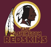 NFL The Washington Redskins Logo T-Shirt by NFLFanMerch