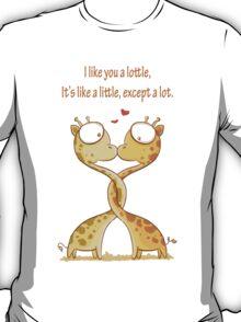 Lottle cute Giraffe T-Shirt