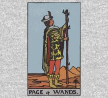 Tarot- Page of Wands by cadellin
