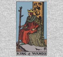 Tarot- King of Wands by cadellin