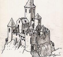 Castle by Aleksandr Yankovsky