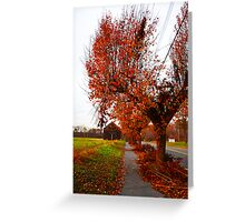 I Miss the Fall Greeting Card